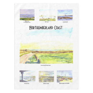 Northumberland Coast Table Cloth