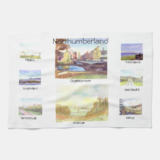 Northumberland Tea Towel
