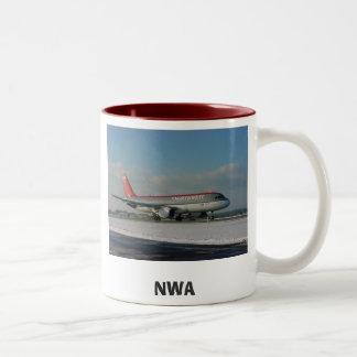 Northwest 1, NWA Two-Tone Coffee Mug