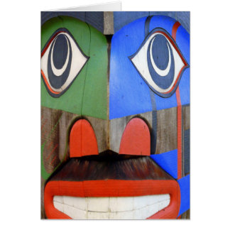 Northwest Coast Indian Art Card
