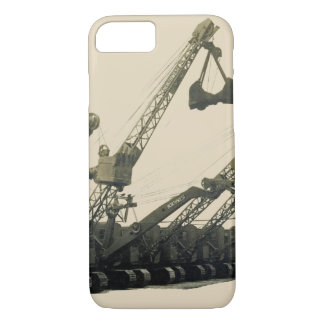 Northwest Crane and Shovel Heavy Equipment Antique iPhone 8/7 Case