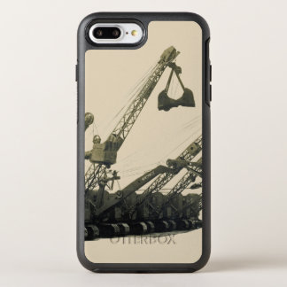 Northwest Crane and Shovel Heavy Equipment Antique OtterBox Symmetry iPhone 8 Plus/7 Plus Case