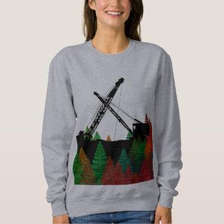 Northwest Crane and Shovel OPERATING ENGINEER art Sweatshirt