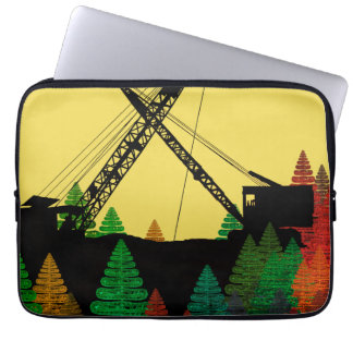 Northwest Crane and Shovel OPERATING ENGINEER Laptop Sleeve