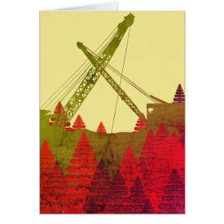 Northwest Crane operator  OPERATING ENGINEER art Card