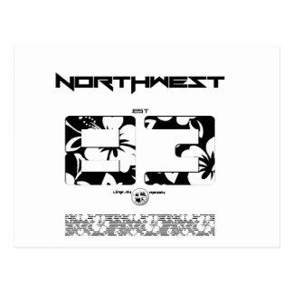 NORTHWEST FLORAL POSTCARD