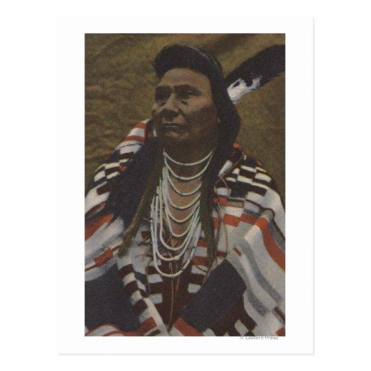 Northwest Indians - Chief Joseph of the Nez Postcard