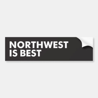 Northwest is Best Bumper Sticker