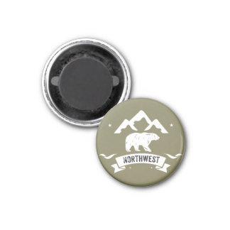 Northwest Life Bear Magnet
