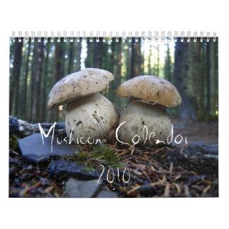 Northwest Mushroom Calendar 2010