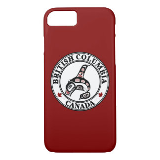 Northwest Pacific coast Haida art Killer whale iPhone 8/7 Case