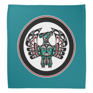 Northwest Pacific coast Haida art Thunderbird Bandana