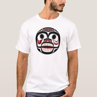 Northwest Pacific coast Haida Weeping skull T-Shirt