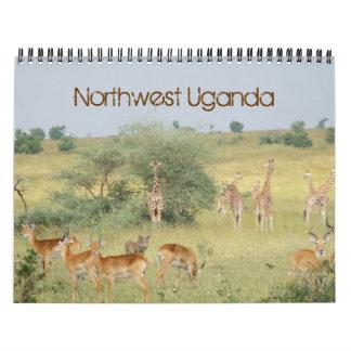 Northwest Uganda Wall Calendars