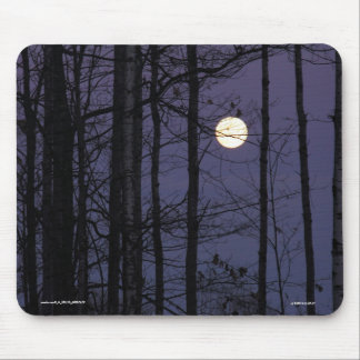 NORTHWOODS MOON MOUSEPAD. MOUSE PAD