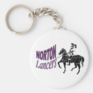 Norton Lancers Keychain