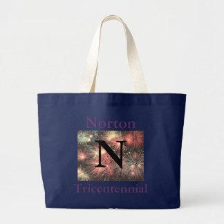 Norton Tricentennial 1711 - 2011 Black Tote Bag