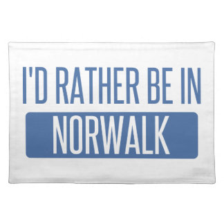 Norwalk CA Place Mat