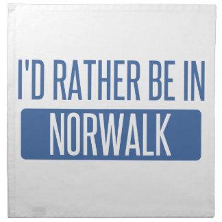 Norwalk CA Printed Napkin