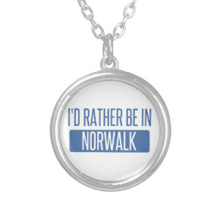 Norwalk CA Silver Plated Necklace
