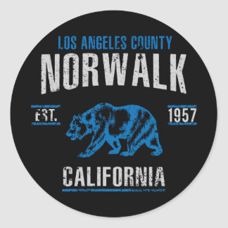 Norwalk Classic Round Sticker