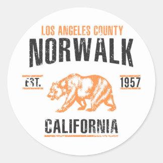 Norwalk Classic Round Sticker