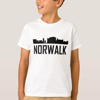 Norwalk Connecticut City Skyline T-Shirt