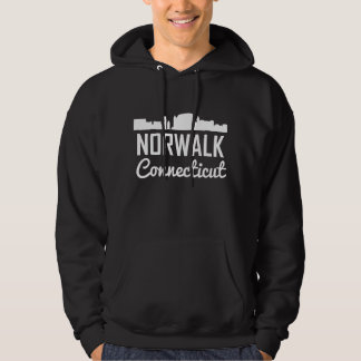 Norwalk Connecticut Skyline Hoodie