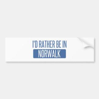 Norwalk CT Bumper Sticker