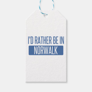 Norwalk CT Pack Of Gift Tags