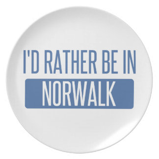 Norwalk CT Party Plates
