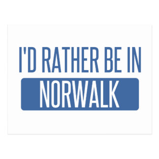 Norwalk CT Postcard