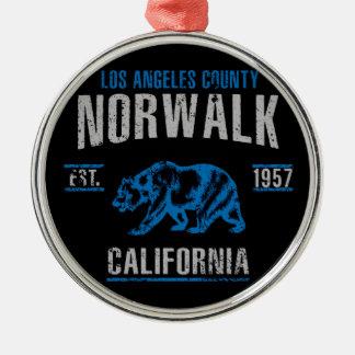 Norwalk Metal Ornament