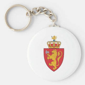 Norway 1905 Coat Of Arms Keychain