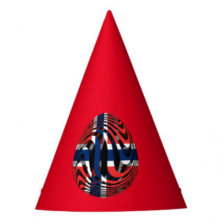 Norway #1 party hat