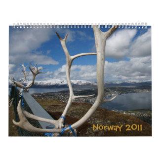 Norway 2011 Calendar