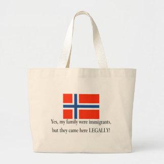 Norway Tote Bags