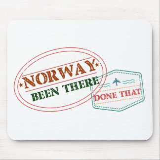 Norway Been There Done That Mouse Pad