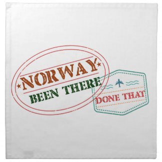 Norway Been There Done That Napkin