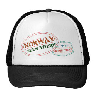 Norway Been There Done That Trucker Hat