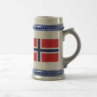 Norway Beer Stein