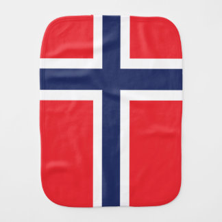 Norway Burp Cloth