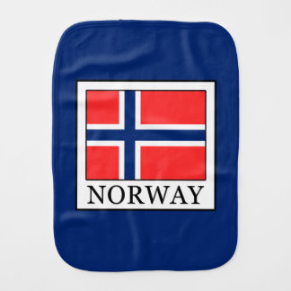 Norway Burp Cloth