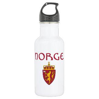 Norway + Coat of Arms 532 Ml Water Bottle