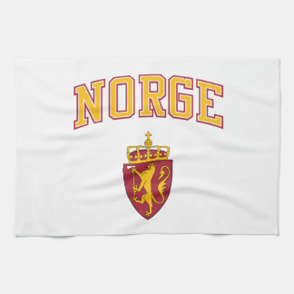 Norway + Coat of Arms Kitchen Towel