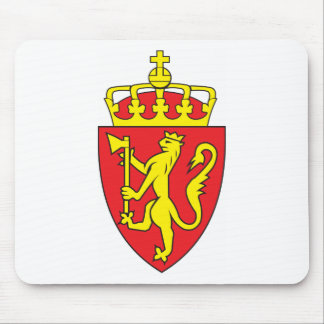 Norway Coat Of Arms Mouse Pad