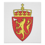 Norway Coat Of Arms Poster