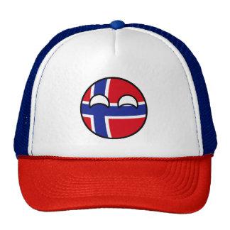 Norway Countryball Trucker Hat