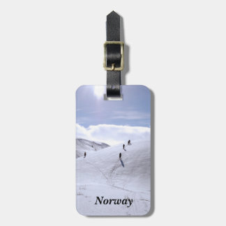 Norway Countryside Luggage Tag