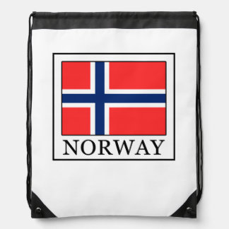 Norway Drawstring Bag